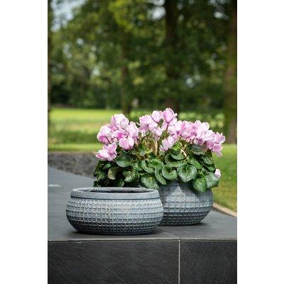 Lichtgewicht plantenbak Bloq Bowl- set (2)