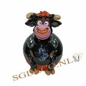 Decoratieve tuinbol Zwarte Stier