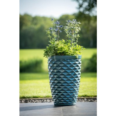 Plantenbak Honey turquoise