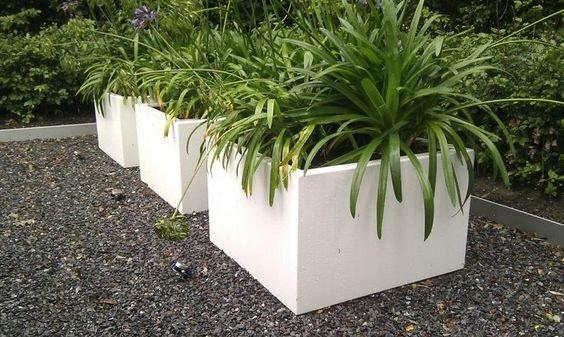 Plantenbakken van Aluminium