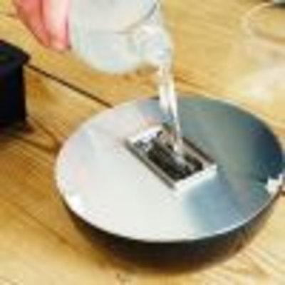 Tenderflame tafelhaard Café aluminium mini haard voor binnen of buiten