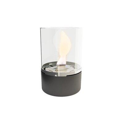 Tenderflame tafelhaard Tower - zwarte mini haard voor binnen of buiten