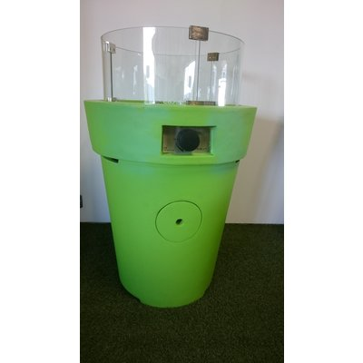 Cosidrum lime groen met glasset (ongebruikt showroom model)