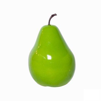 Grote decoratieve Peer M (Ø 39x60cm) - groen