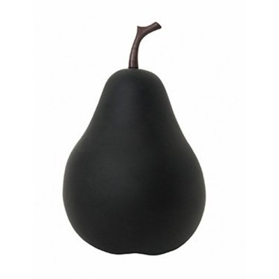 Grote decoratieve Peer M ( Ø39x60cm)  - mat zwart