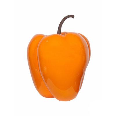 Grote paprika M (Ø 45,5X55cm) - oranje