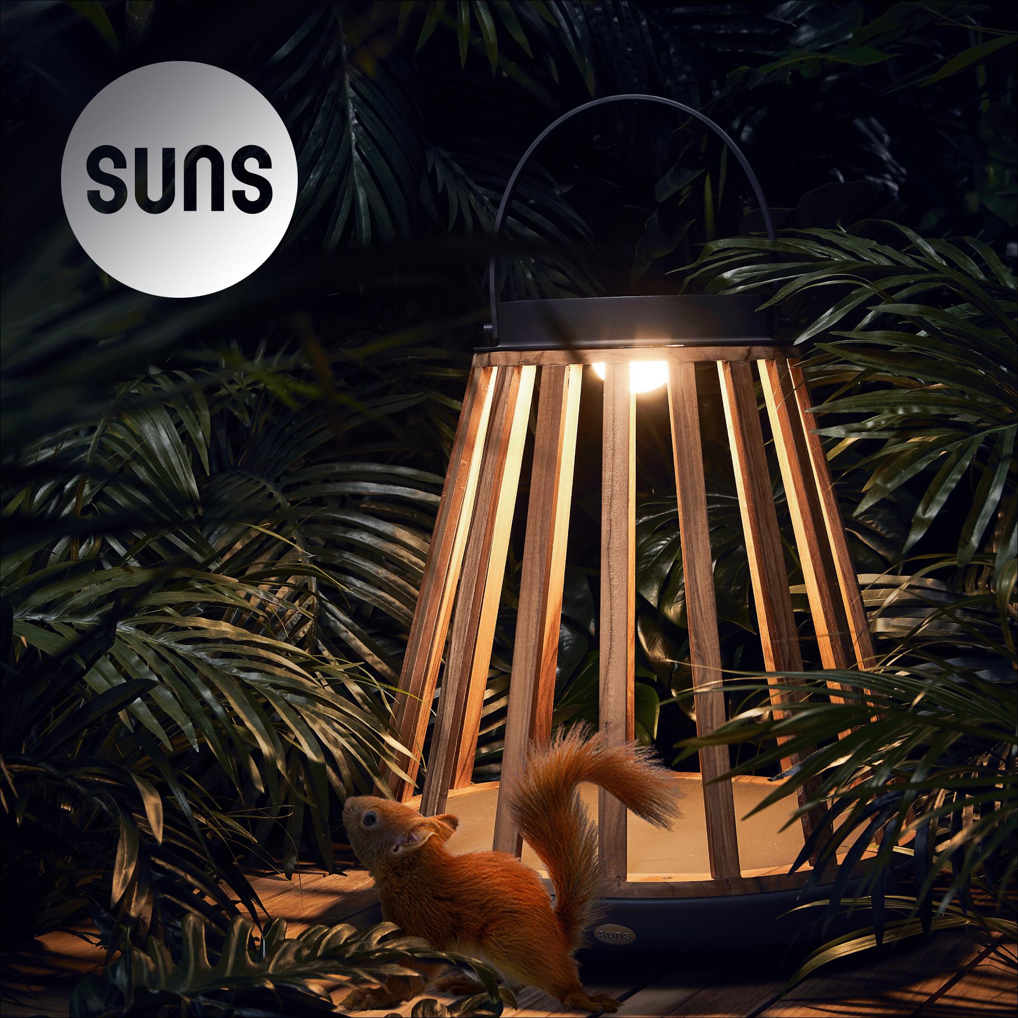 Mooie sfeervolle en  goed verlichtende buitenlampen op zonne-energie