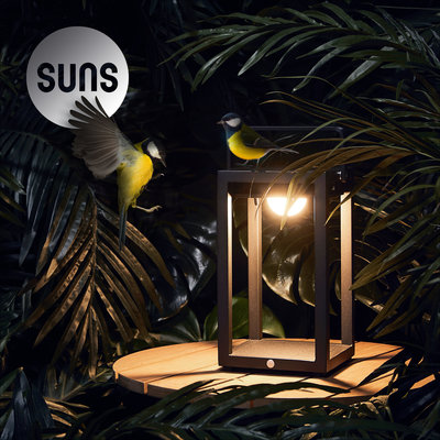 Solar lamp Mr. Jack van Suns - MW (mat wit)
