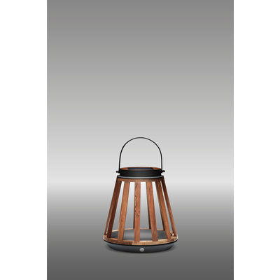 Solar lamp Mrs. Kate van Suns - MRG (matt royal grey)