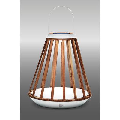 Solar lamp Mrs. Kate van Suns - MW (mat wit)