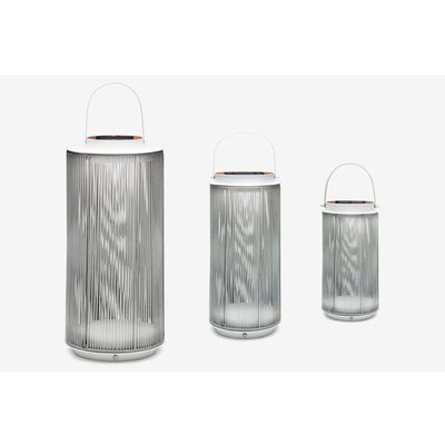 Solar lamp Mrs. Fay van Suns - MRG (matt royal grey)