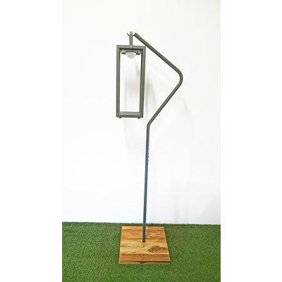 "Hanglamp standaard ""mrs. Ivy"" van Suns - MRG (matt royal grey)"