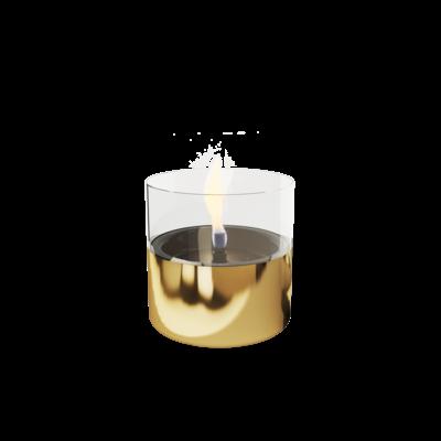 Tenderflame geschenk-set Lilly goud, leuke kado met tenderflame Lilly en vloeistof