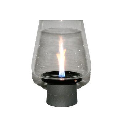 Tenderflame tafelhaard Amaryllis Mgo - ronde brander - white mini haard voor binnen of buiten