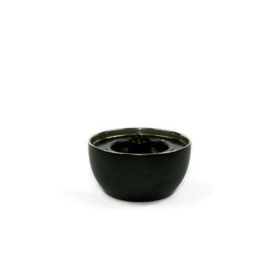 Tenderflame tafelhaard Roos 14cm ronde brander - black mini haard voor binnen of buiten