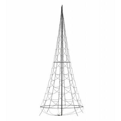 Fairybell Kerstboom 400cm met 640 ledlampjes (met gekleurde lampjes)