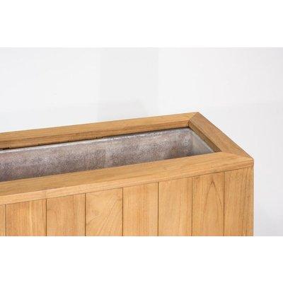 Fiberglass inzethoes Kayu 1 voor houten roomdivider