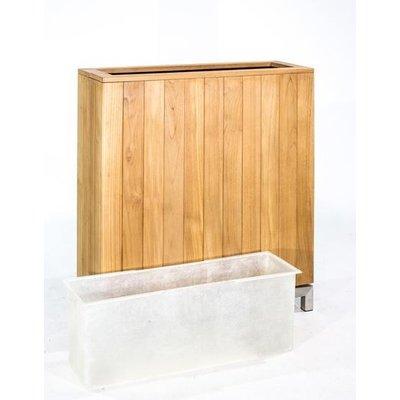Fiberglass inzethoes Kayu 2 voor houten roomdivider