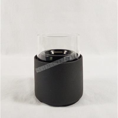 Tenderflame tafelhaard Ivy 17 Ceramic zwart - mini haard voor binnen of buiten