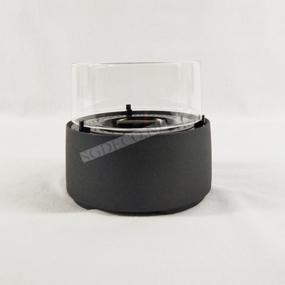 Tenderflame tafelhaard Café 14 cm Lava Grey - mini haard voor binnen of buiten