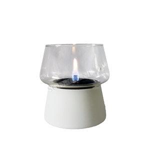 Amaryllis glass White 14
