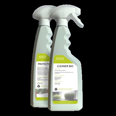 ADEZZ cleaner + protector set 500ml