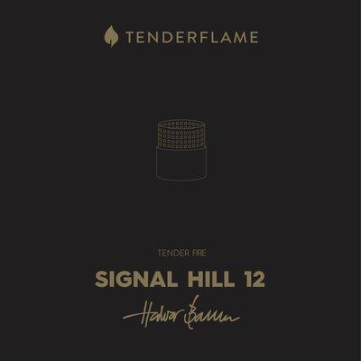 Tenderflame Signal Hill 12 metal, leuke kleine tafelhaard voor binnen of buiten