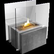 Tenderflame MGO Freestanding , leuke grote verrijdbare haard voor binnen en of buiten    - Copy