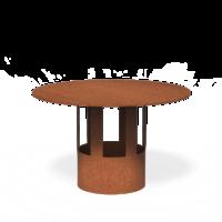 Forno / Burni regenkap staal