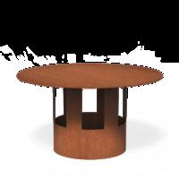 Forno / Burni regenkap staal XL
