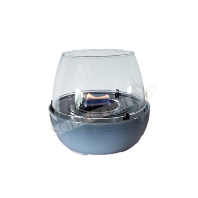 Tenderflame tafelhaard Tulip reactive bleu - 18cm  - mini haard voor binnen of buiten