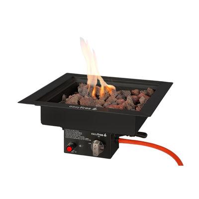 Vuurtafel Juke van Easyfires, mooie gastuinhaard op propaan of aardgas