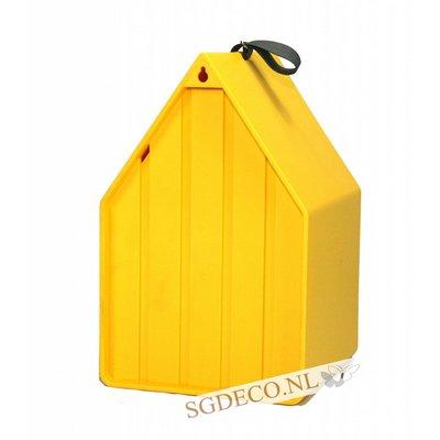 Landhaus vogelhuis geel, het ideale nestkastje