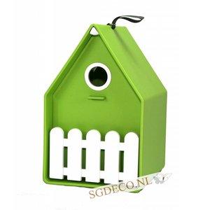 Landhaus vogelhuis lime groen