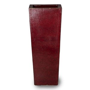 Kubis klassiek rood 36x36x90cm