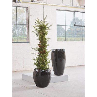 Plantenbak Moda Partner 92 zwart glans
