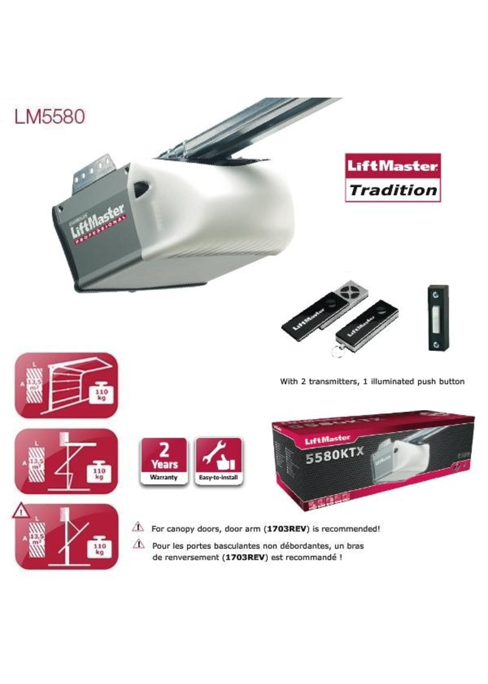 Liftmaster LM5580 Automatisme de porte de garage Liftmaster