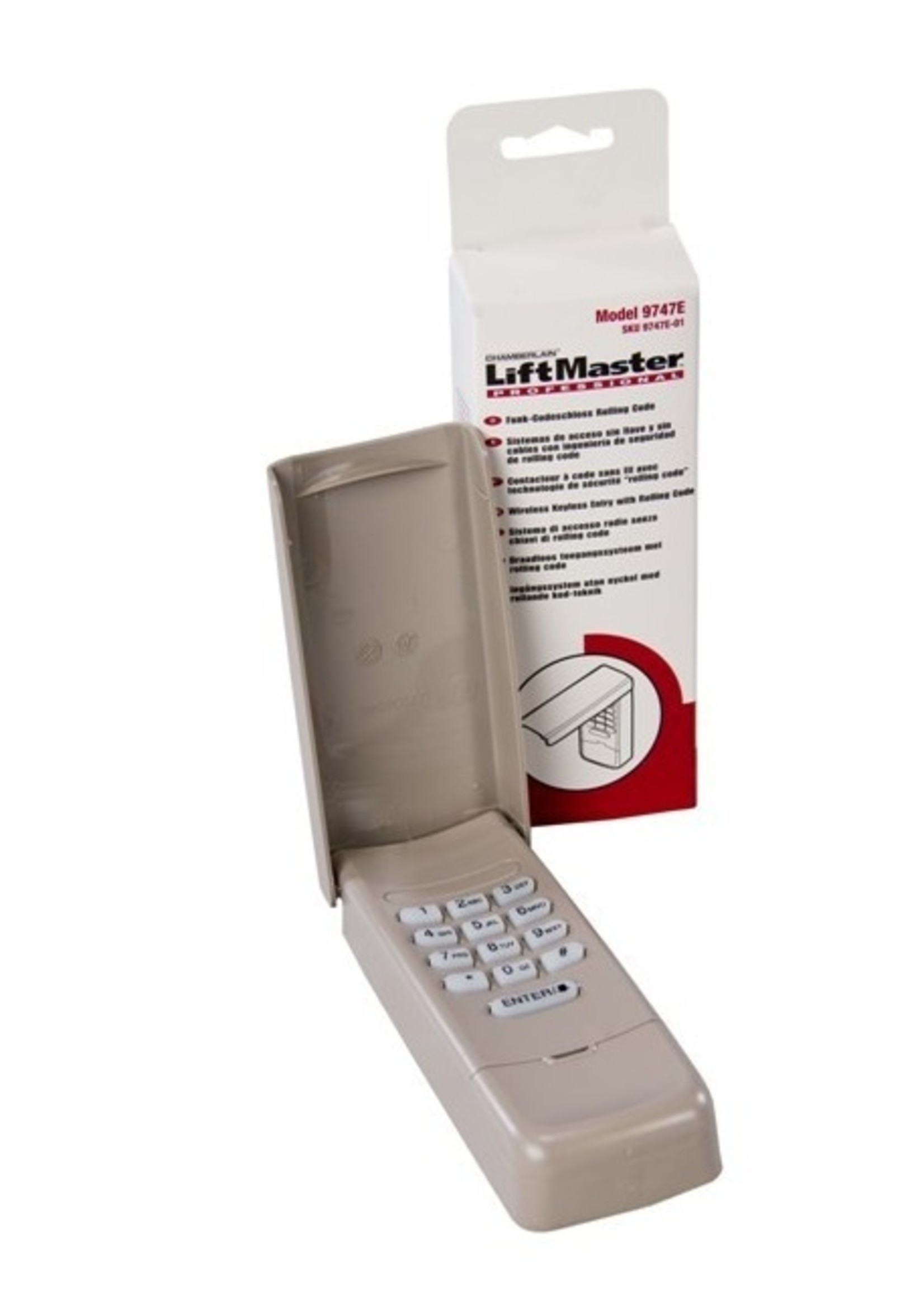 Liftmaster 9747E Digicode sans fil modèle 8747EML Rolling Code