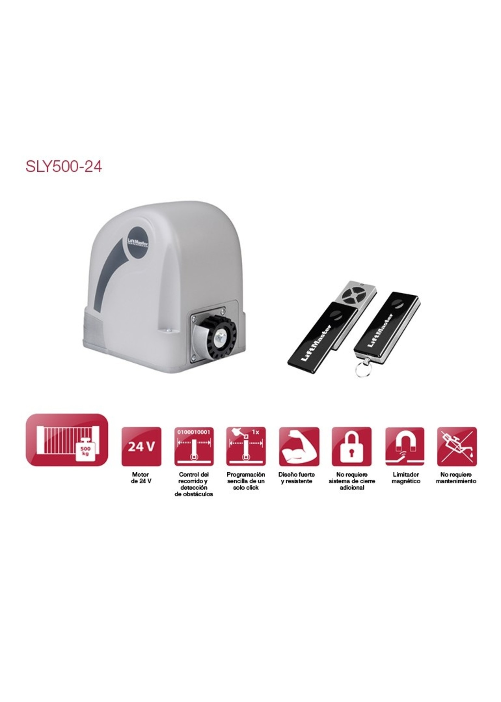 Liftmaster SLY500K 230V Operateur pour portail coulissant
