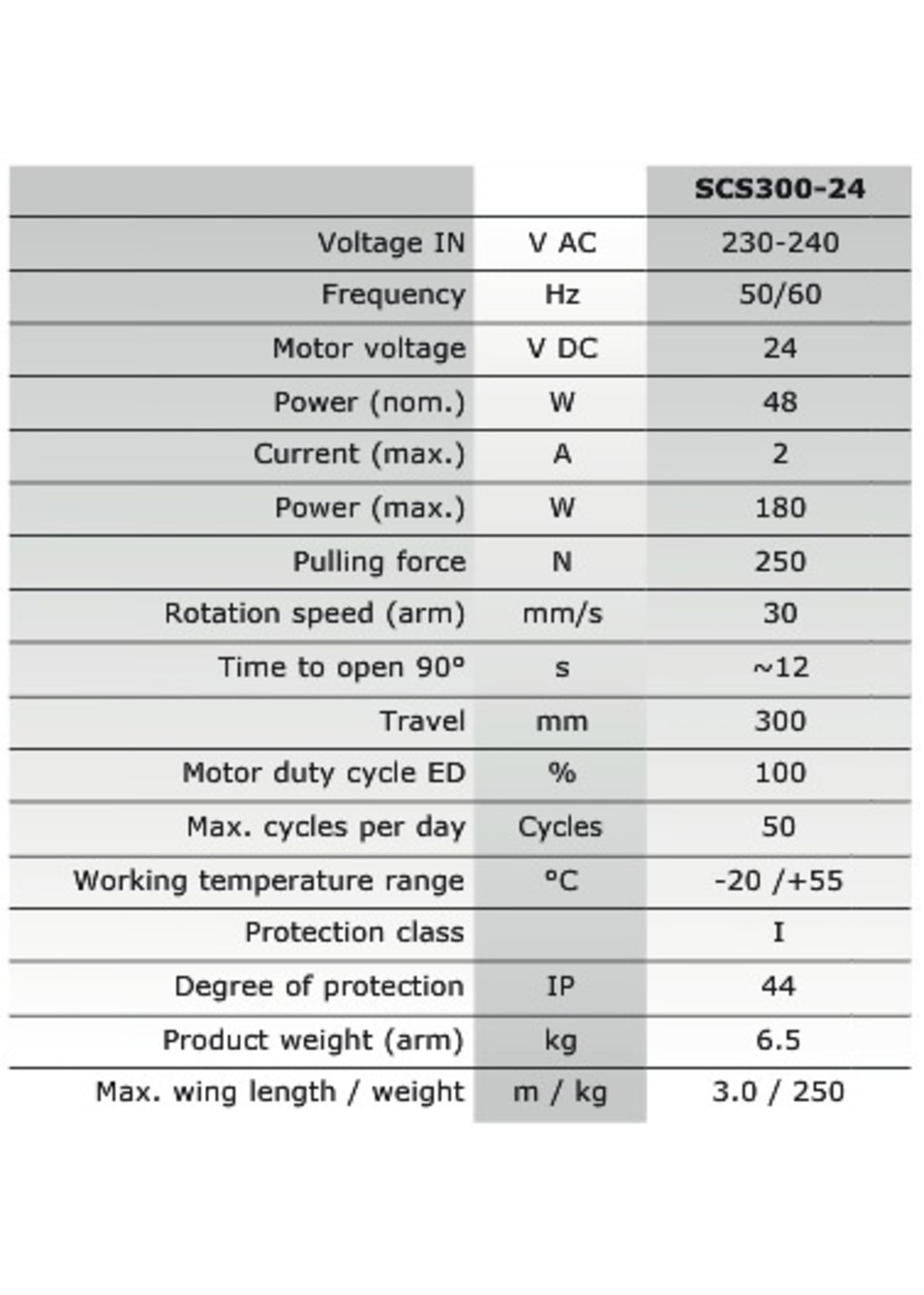 Liftmaster SCS324K-EV 24V automatisme portail à battants SCS300-24