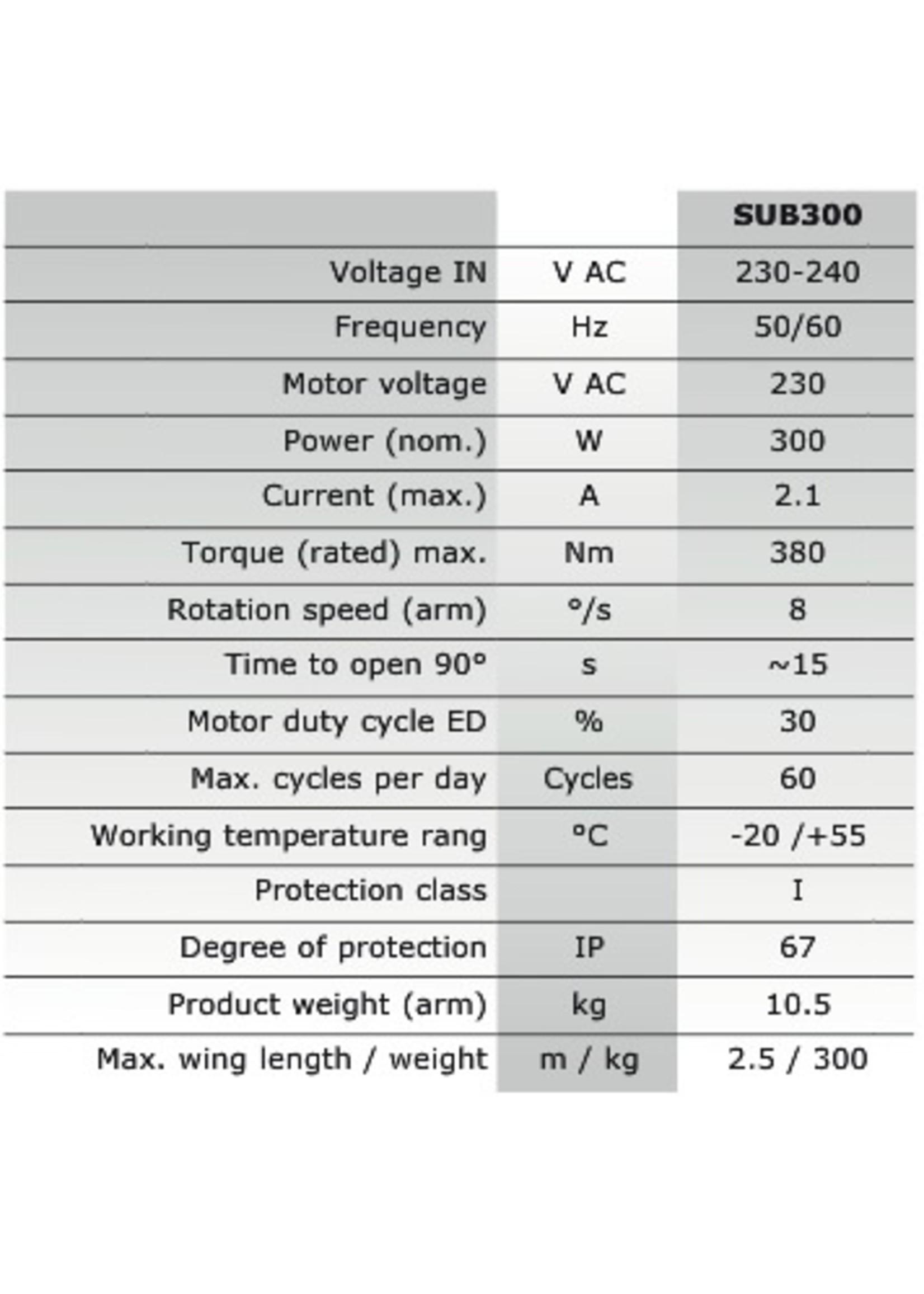 Liftmaster SUB300KS Kit motorisation de portail 1 battants