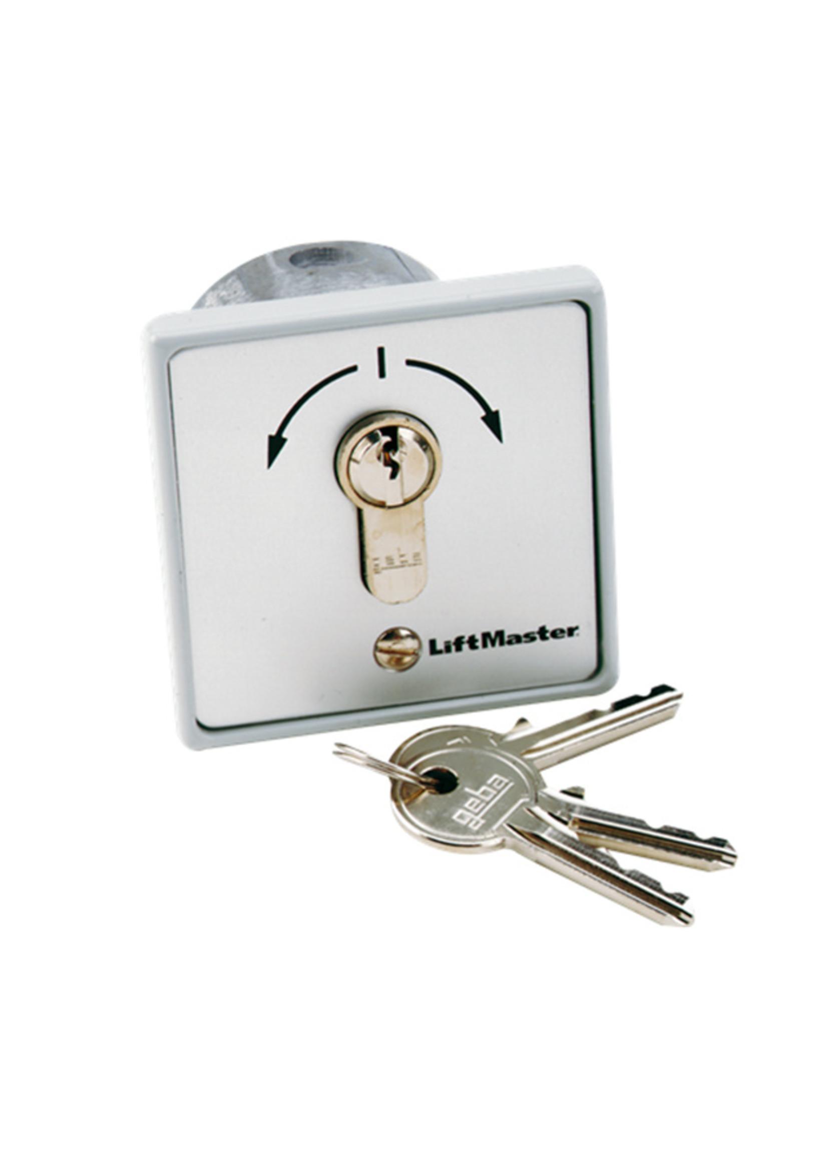 Liftmaster 100034 Contacteur à clé 2 fonctions à encastrer