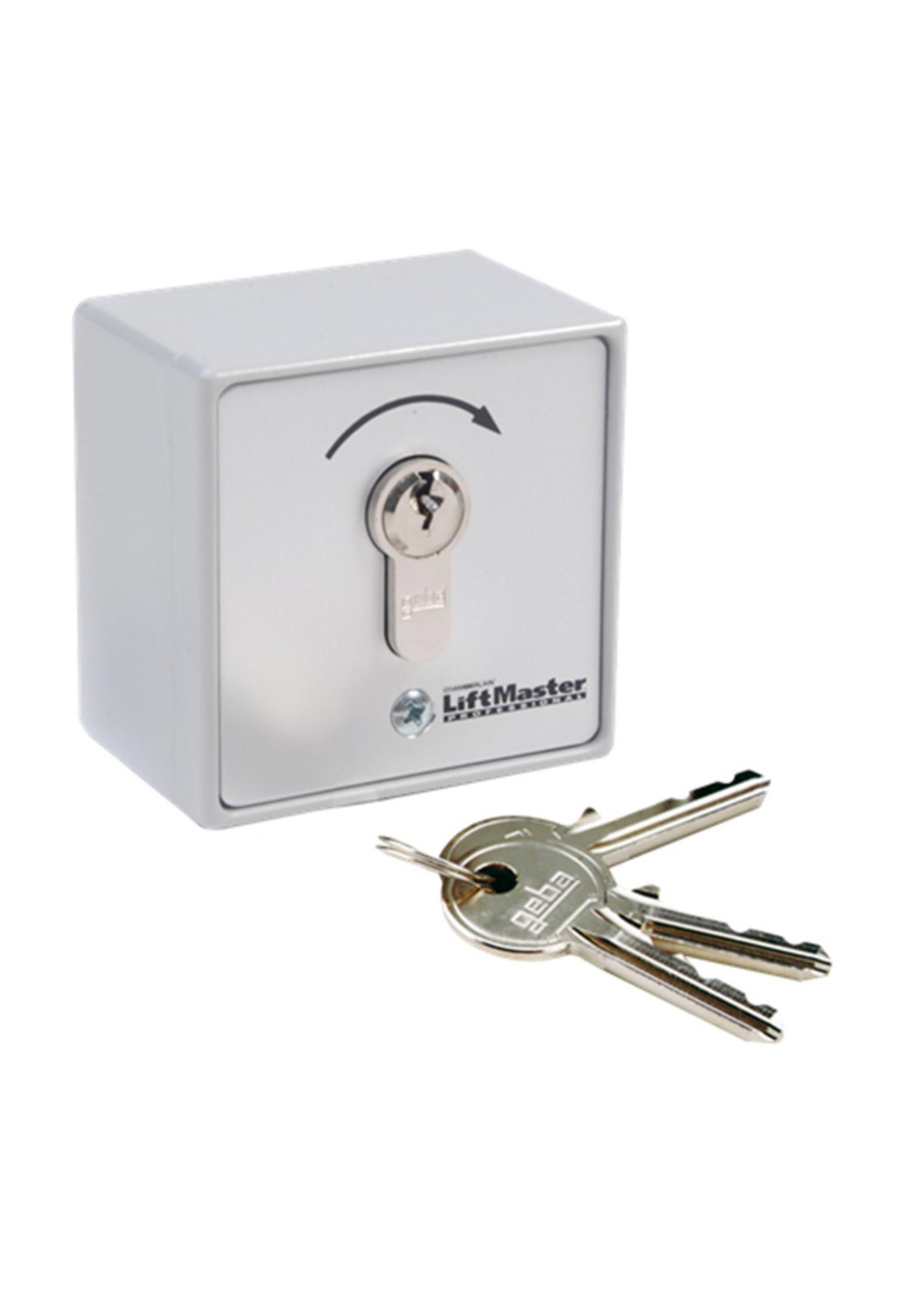 Liftmaster 100027 Opbouw sleutelschakelaar 1 functie