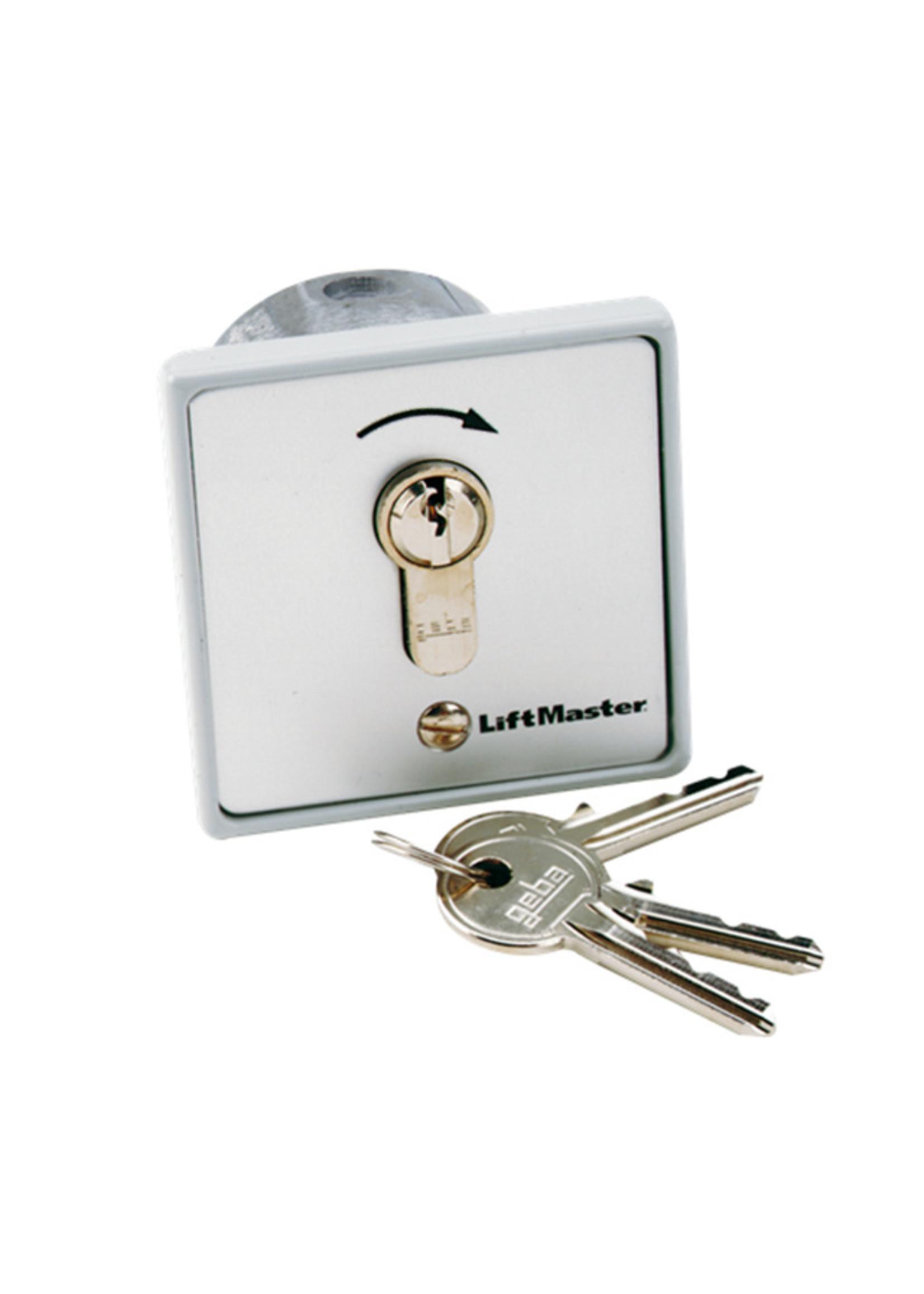 Liftmaster 100010 Contacteur à clé 1 fonctions à encastrer