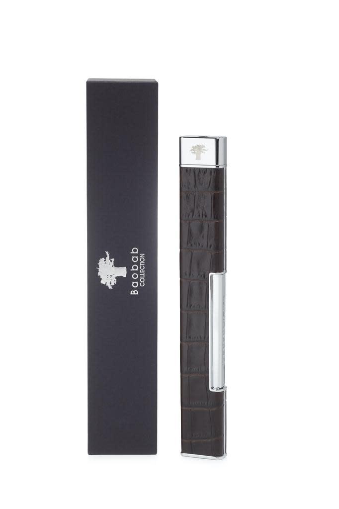 Brown Croco Lighter-1