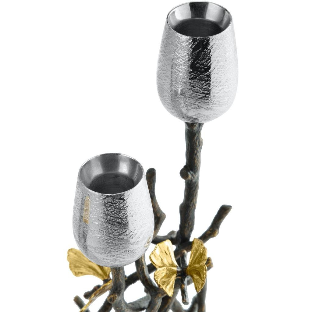 Butterfly Gingko Candle Holder-2