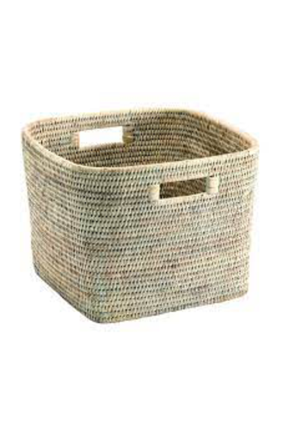 Ceruse Square Basket 29x29x23cm