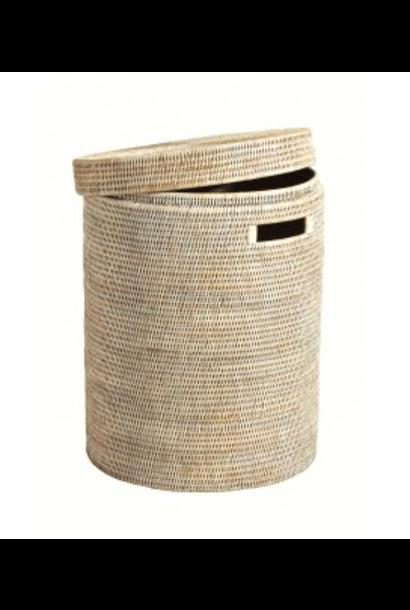 Ceruse Linen Basket