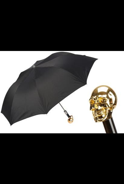 Parapluie Crâne Or