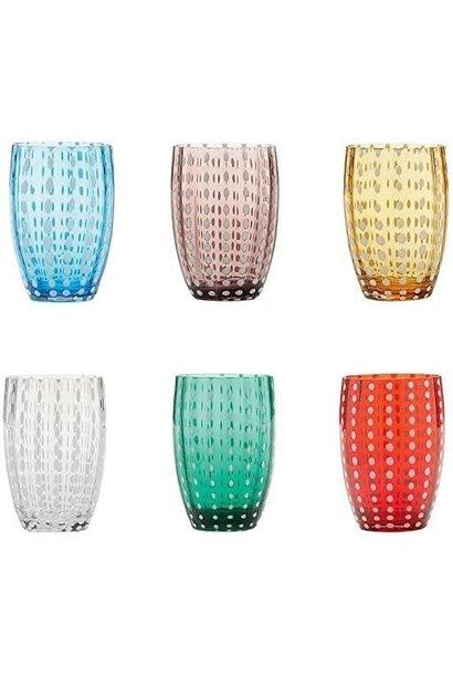 Pearl Glasses Set  6pcs